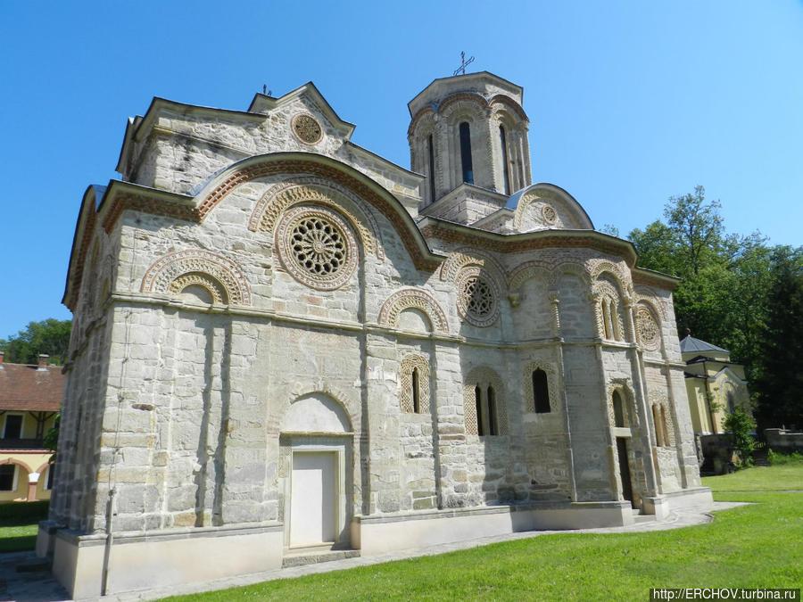 Монастырь Любостыня Трстеник, Сербия