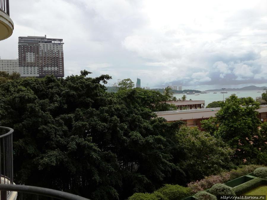 Вид с балкона 4 этажа