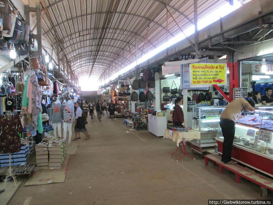 Market Don Dog Вьентьян, Лаос
