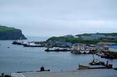 Пограничные корабли в бухте Мало — Курильска.