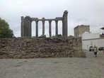 Римский храм Дианы в верхней части города Эвора.
