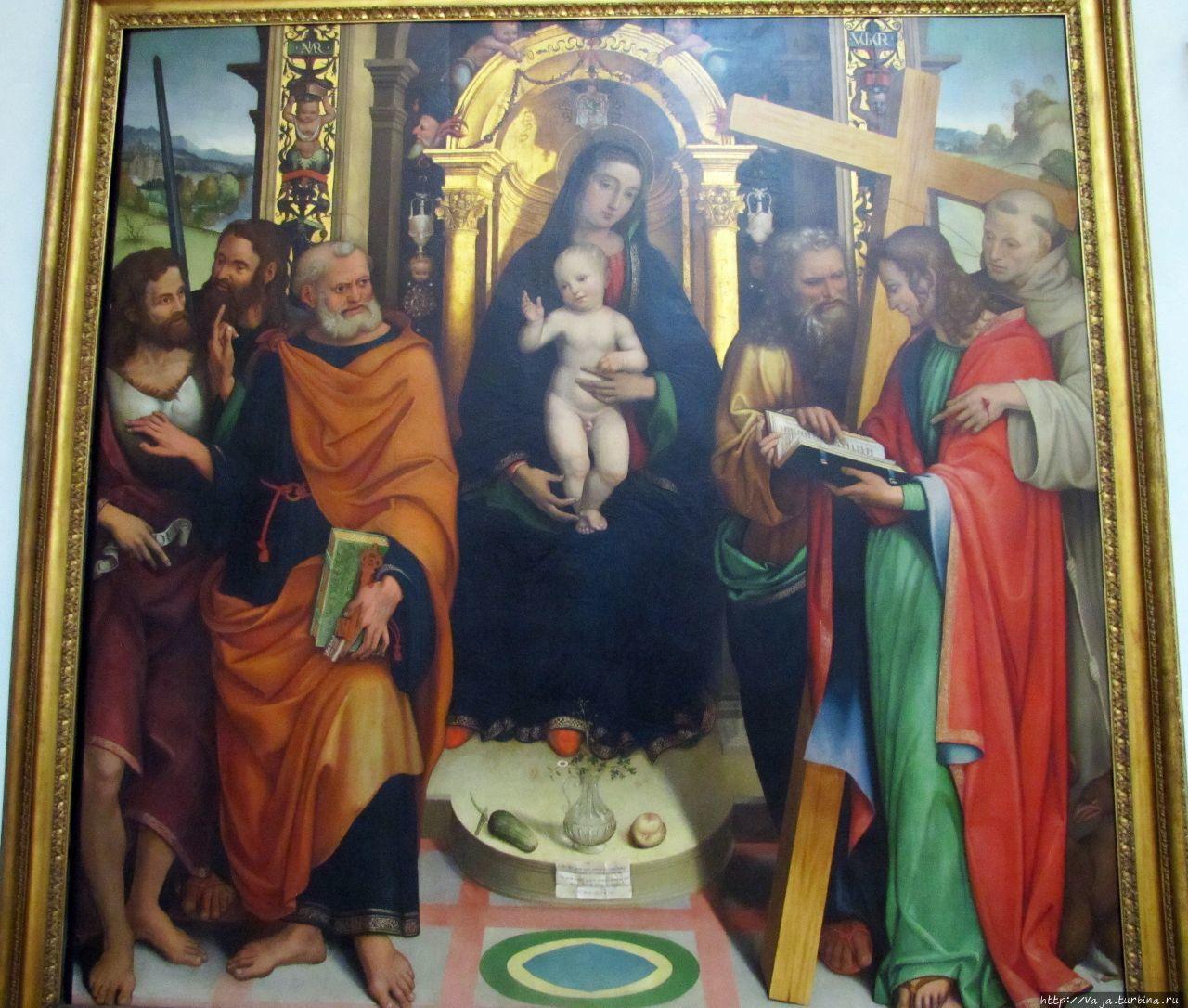 Мадонна и святые Рим, Италия