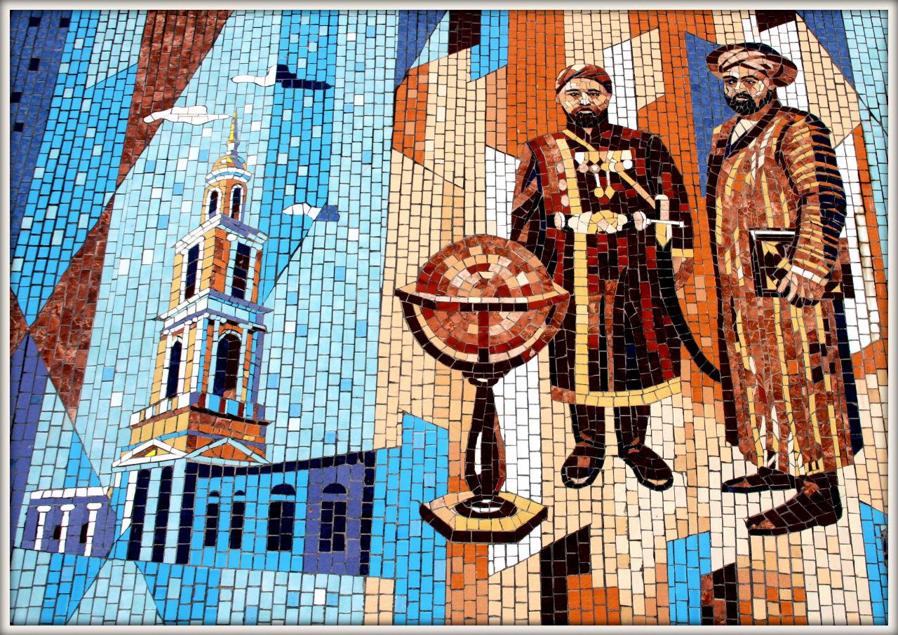 Памятник Исмаилу Самони Худжанд, Таджикистан