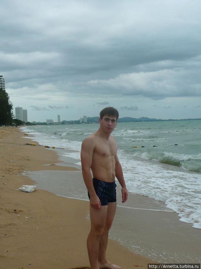 В день приезда: после заселения сразу на пляж.