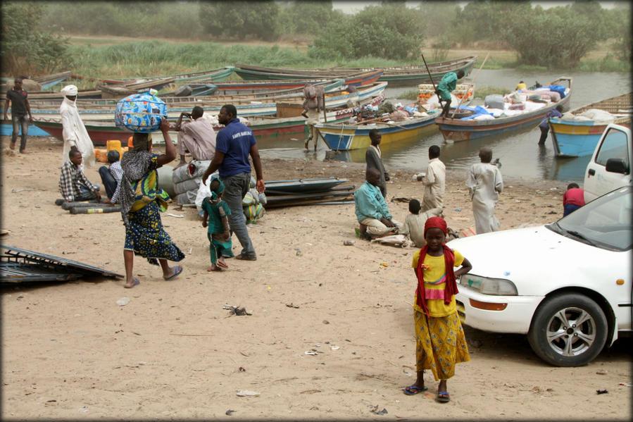 Жизнь озера Чад озеро Чад, Чад