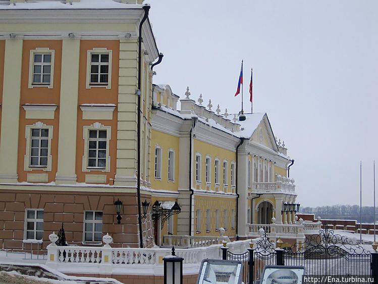 Постройки Казанского Крем