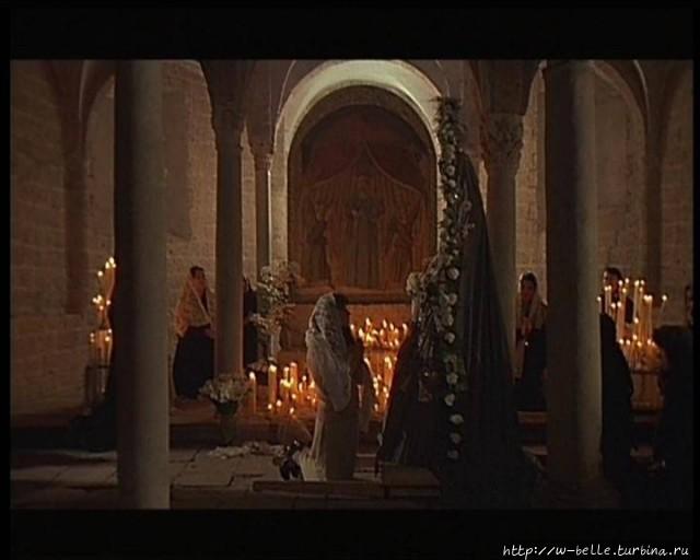 Кадр из фильма А. Тарковс