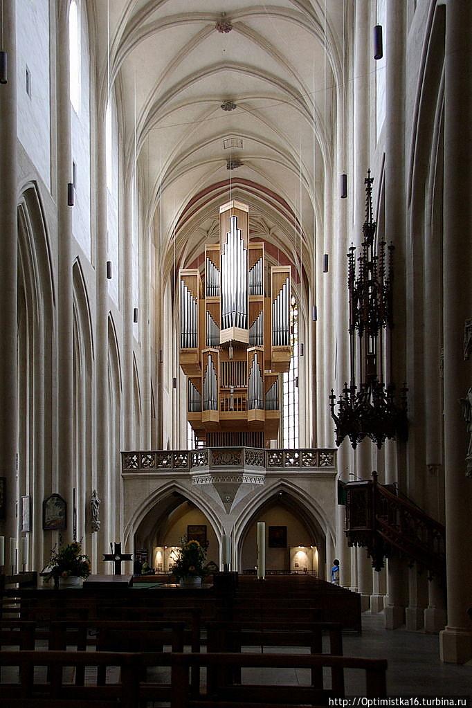 Интерьер церкви св. Якова