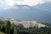 Вот он какой — Горки-город (точнее его верхняя часть) на высоте 960 м над уровнем моря.