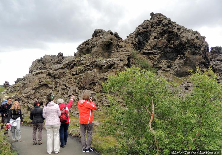 комплекс вулканических об