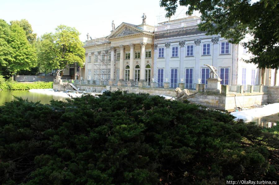 Лазенковский дворец (Дворец на воде).