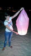 Вечером по пляжу ходят тайцы и предлогают за небольшие деньги приобрести это китайское изобретение! Немного позитива некогда не мешало прогулке.