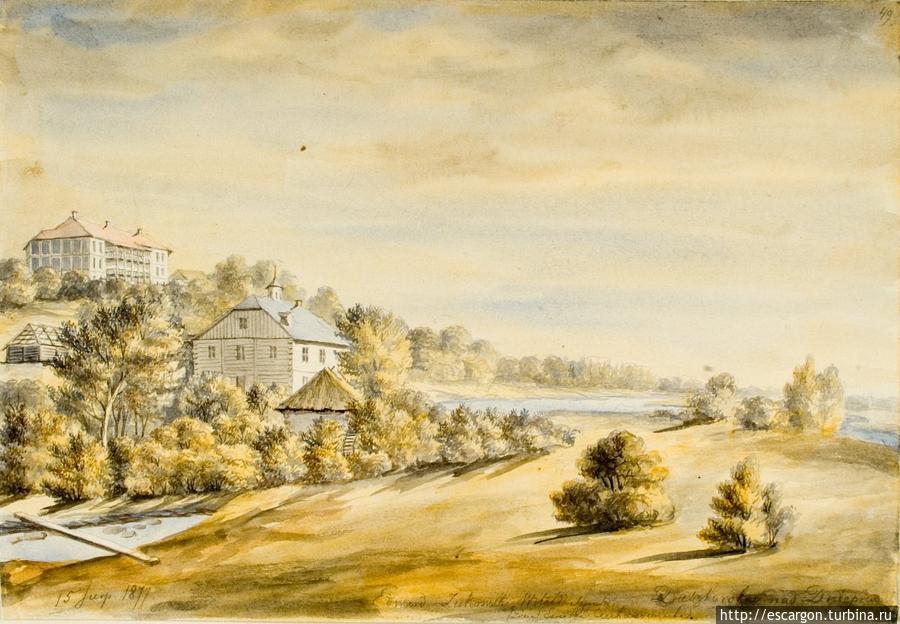 Дашковка. Рисунок Наполеона Орды: между 1856 и 1883 гг. http://orda.of.by/