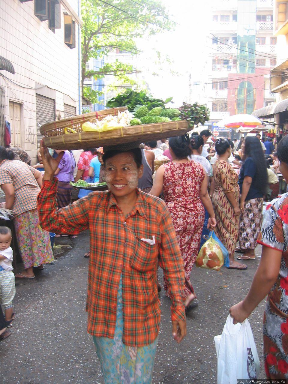 Уличный рынок в Китайском