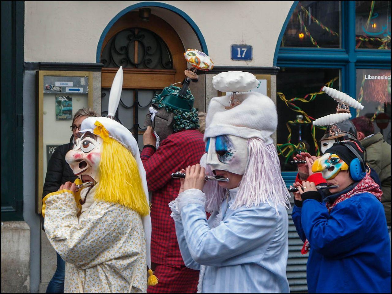 Протестантский карнавал или Всё, что мы узнали о Фаснахте Базель, Швейцария