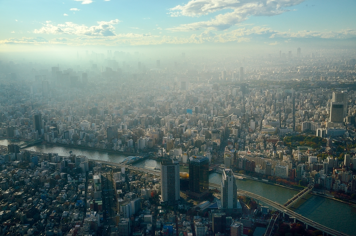 Телебашня Tokyo Skytree Токио, Япония