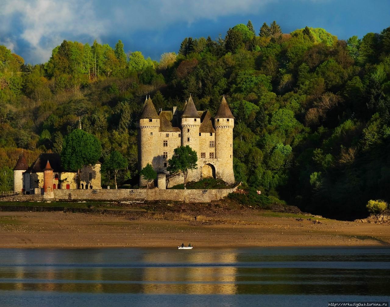 Но только ТЫ замок моей мечты! Ланобр, Франция