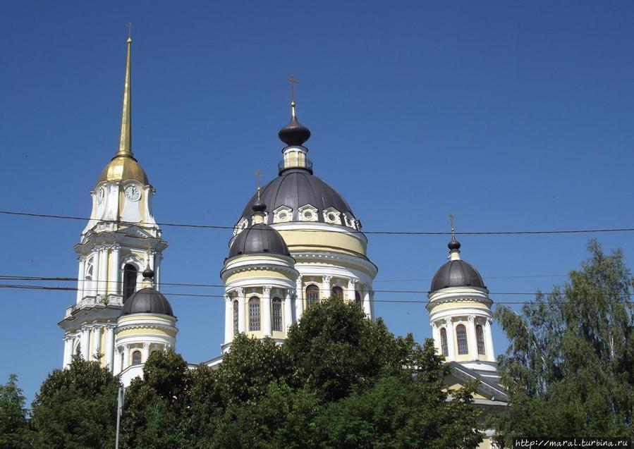 Спасо-Преображенский собор — главный храм Рыбинска