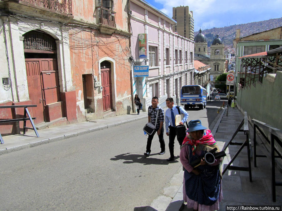 Опасная столица Ла-Пас, Боливия