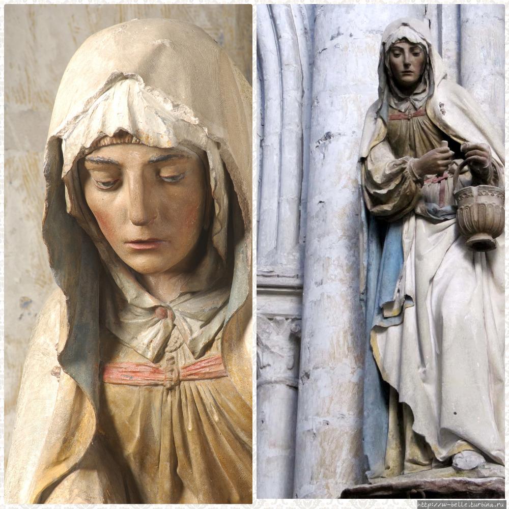 Скульптура Св. Марты в це