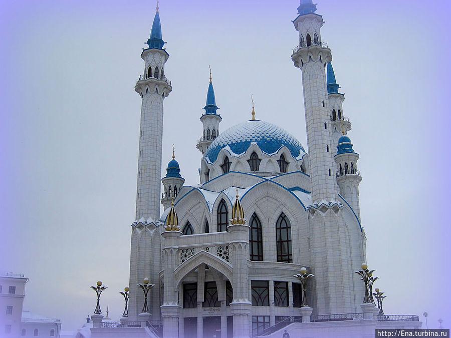 Мечеть Кул Шариф — восточная красавица