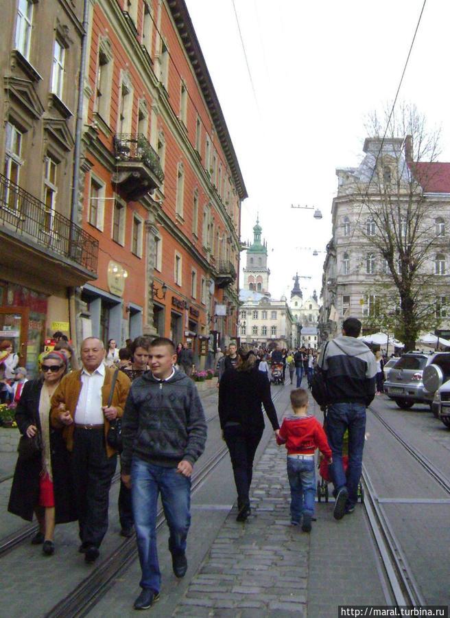 Башня Корнякта Успенского собора — одна из доминант Старого Львова_