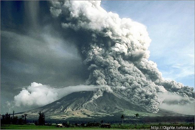 *Вот такой он, вулкан Май