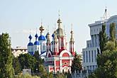 Вид на Казанский мужской монастырь с какнала реки Цны