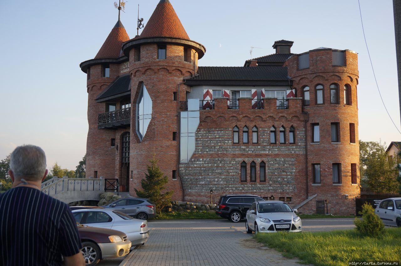 Замок новый, но в традициях прошлого Калининград, Россия