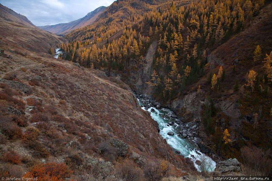 Узкий каньон Чуи — Мажойский каскад