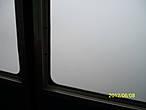 Из кабины ничевошеньки не видно.
