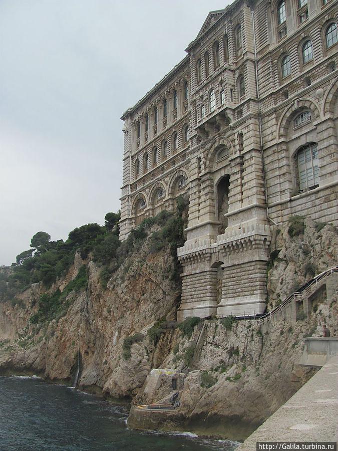 Вид Морского музея с моря.
