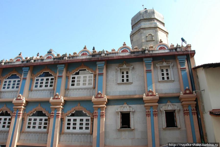 Старые кварталы Панаджи Панаджи, Индия
