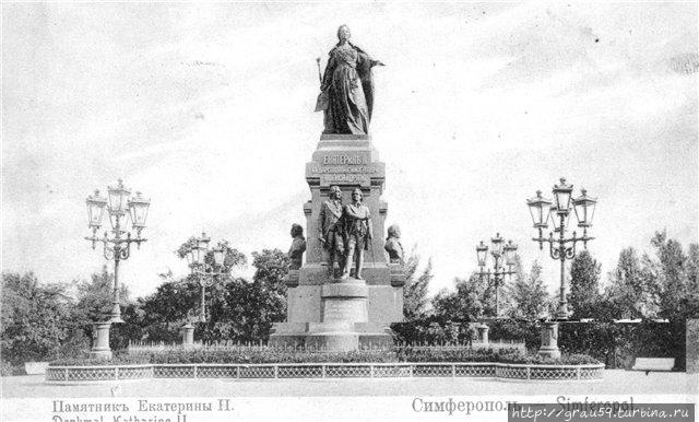 Памятник Екатерине II (фото из Интернета)
