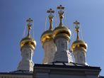 Купола русской православной церкви Женевы