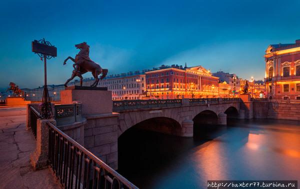 Аничков мост Санкт-Петербург, Россия