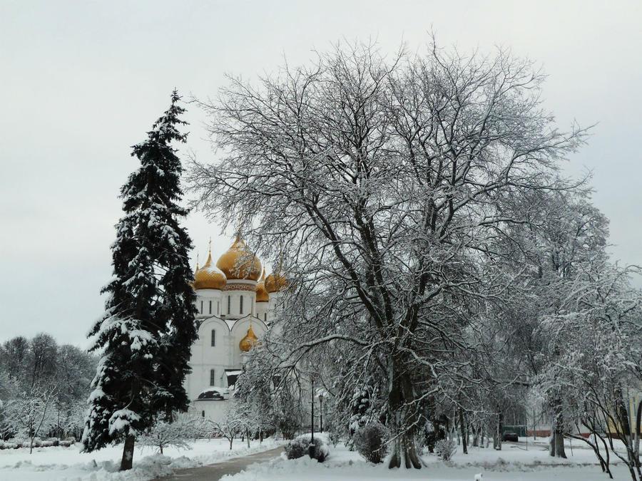 А в Ярославль пришла зима Ярославль, Россия