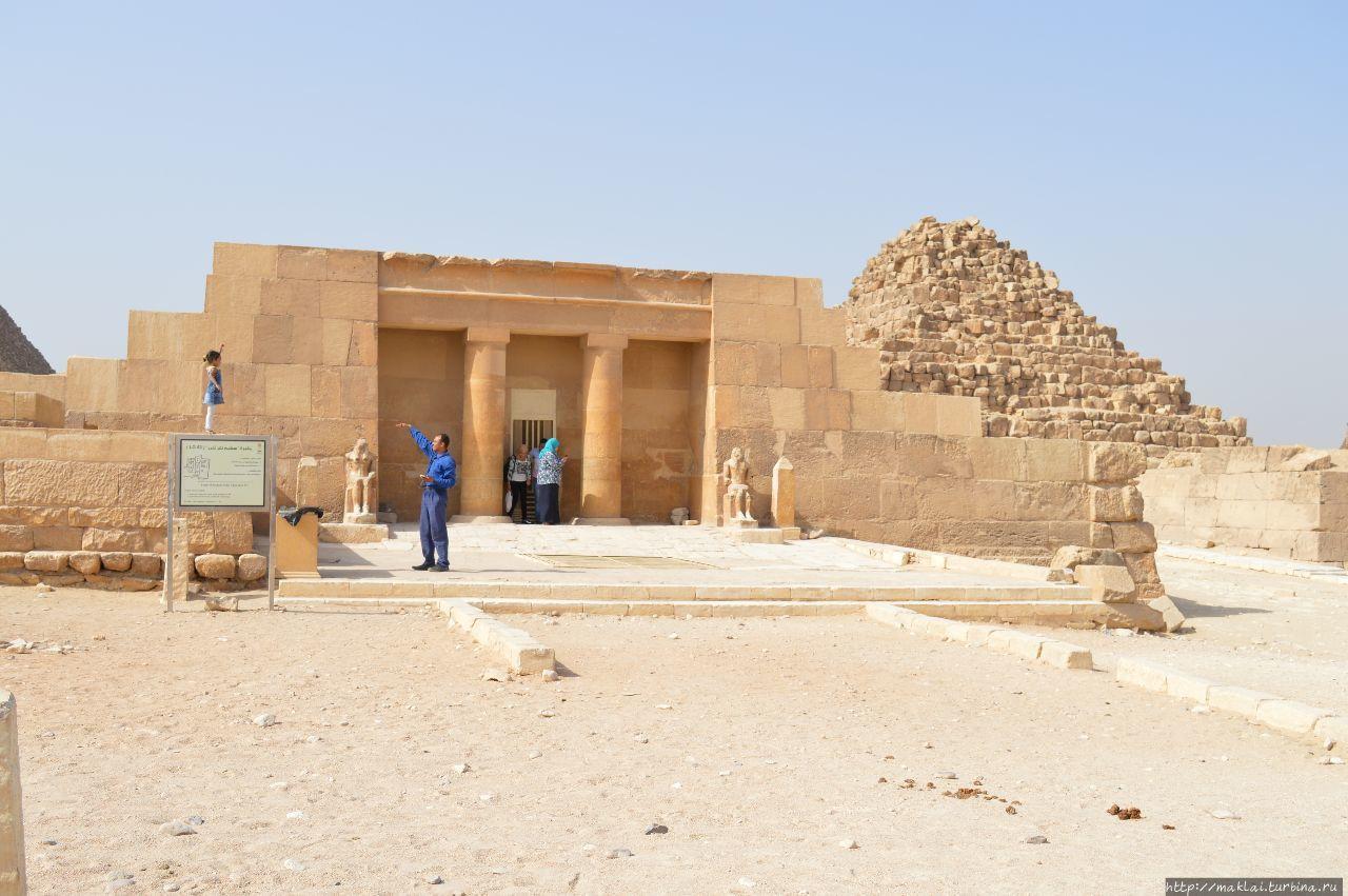 Заупокойный храм фараона