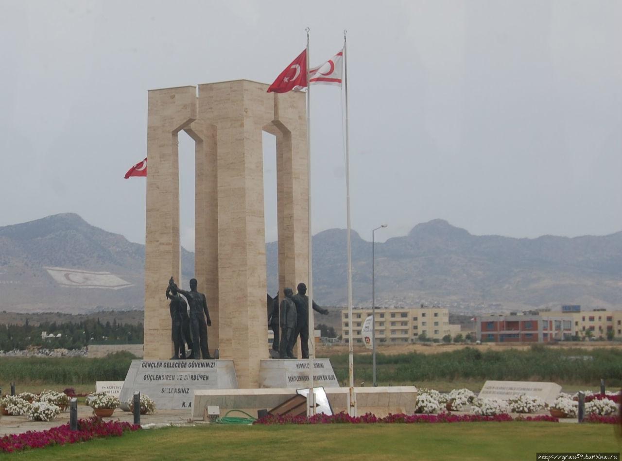 Памятник мученикам Никосия (турецкий сектор), Турецкая Республика Северного Кипра