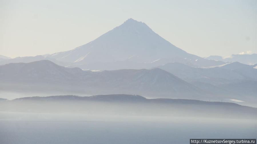 Вилючинский вулкан с Мишенной сопки