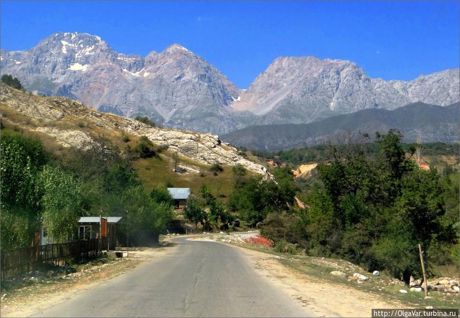 Хребет Бабаш-Ата Арсланбоб, Киргизия