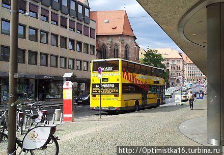 Остановка Königstorgraben / Künstlerhaus K4 напротив Центрального железнодорожного вокзала