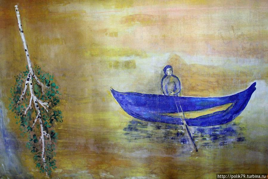 Марк Шагал. Задник из декораций к балету