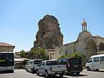 скала-крепость  Ортахисар