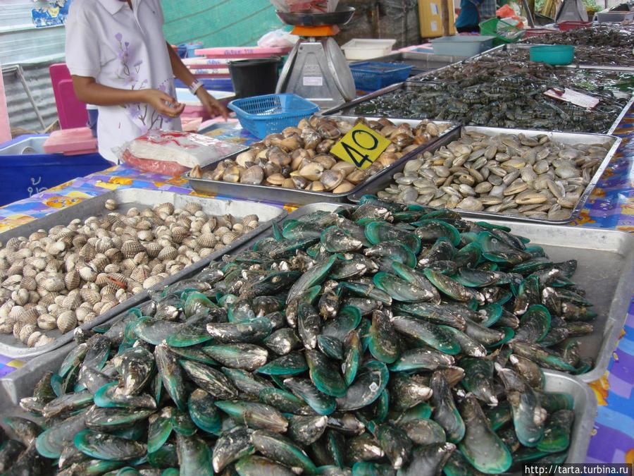 Морепродукты на пхукете