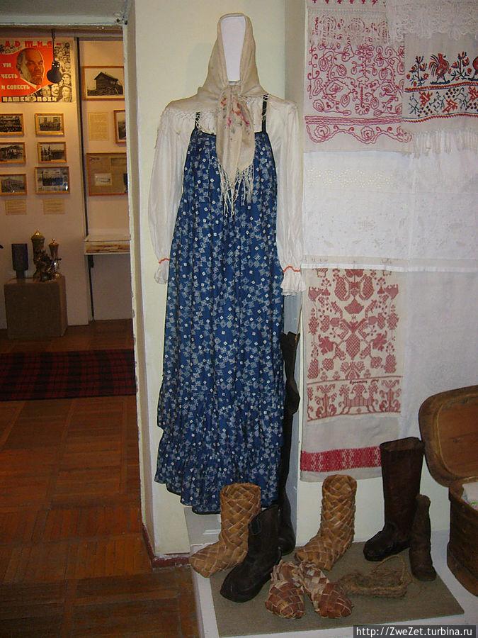 женский костюм славян