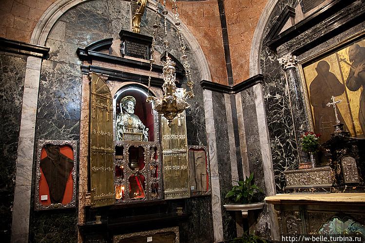 Капелла с реликвиями Св.