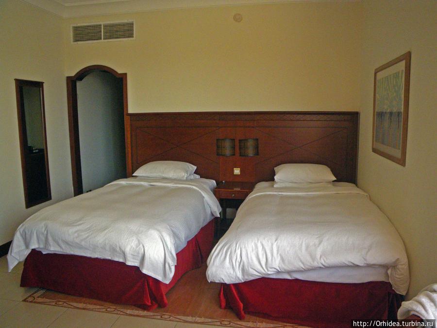 очень удобные кровати