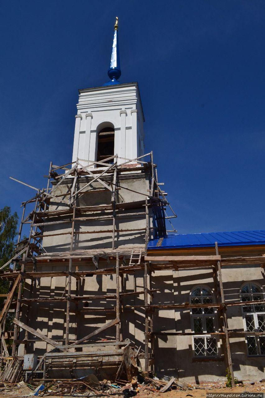 храм Рождества Христова Хвощевка, Россия