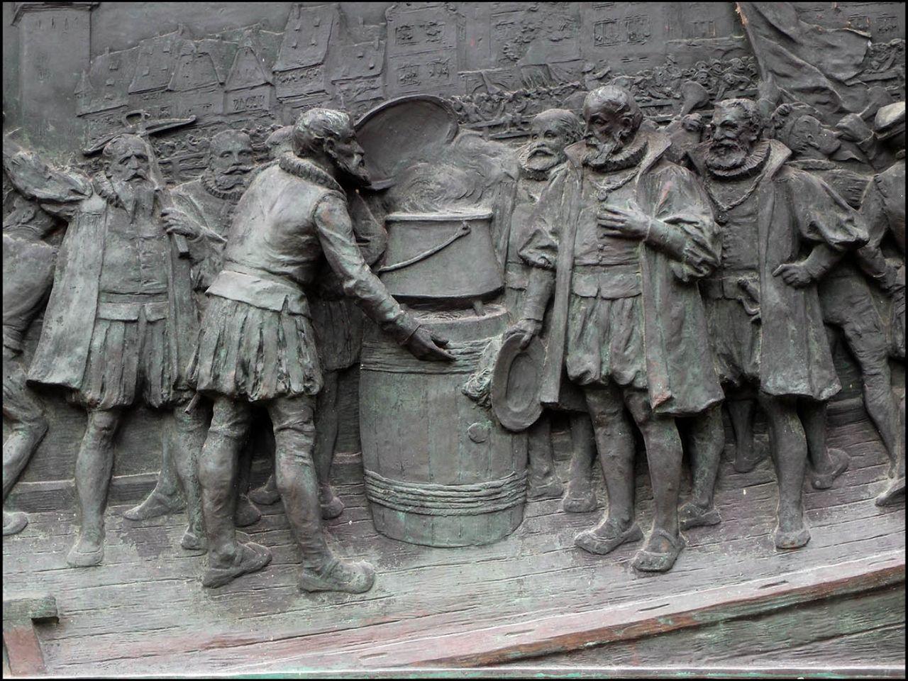Необычные скульптуры Базеля Базель, Швейцария
